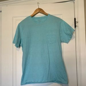 Mens Banana Republic Crewneck Pocket T-Shirt